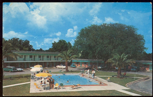 Postcard of Southernaire Motel, Tallahassee, Florida