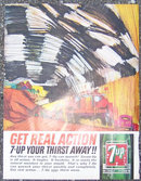 1963 7-Up Your Thirst Away Magazine Advertisment