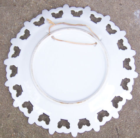 Last Supper Collectors Plate with Fleur De Lis Edge