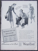 1940 Wear-Ever Aluminum Cooking Magazine Advertisment