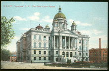 The New Court House, Syracuse, New York Postcard