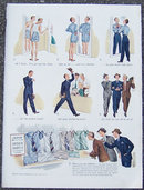 1940 Arrow Aroair Shirt Magazine Color Advertisment