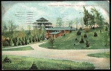 Postcard of Highland Park, Showing Pavilion, Rochester, New York