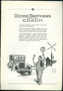 Dodge Brothers Coach 1925 Magazine Advertisement