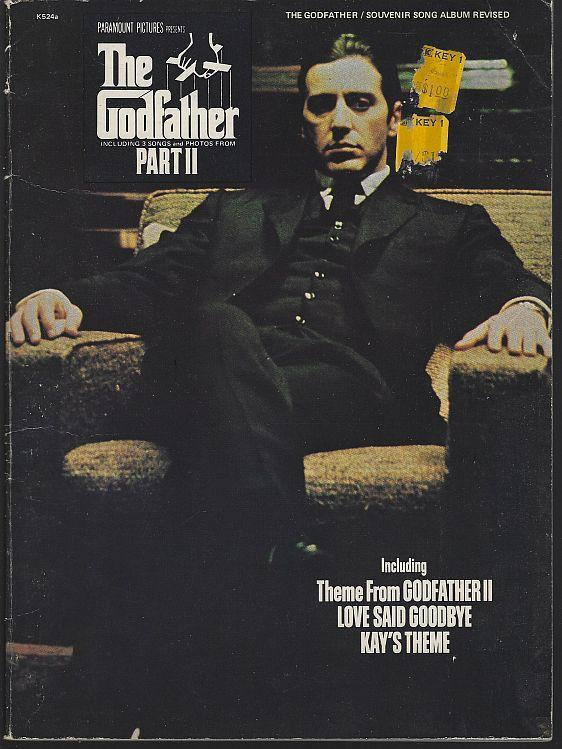 Francis Ford Coppola's Godfather Part II Souvenir Song Album Al Pacino 1974