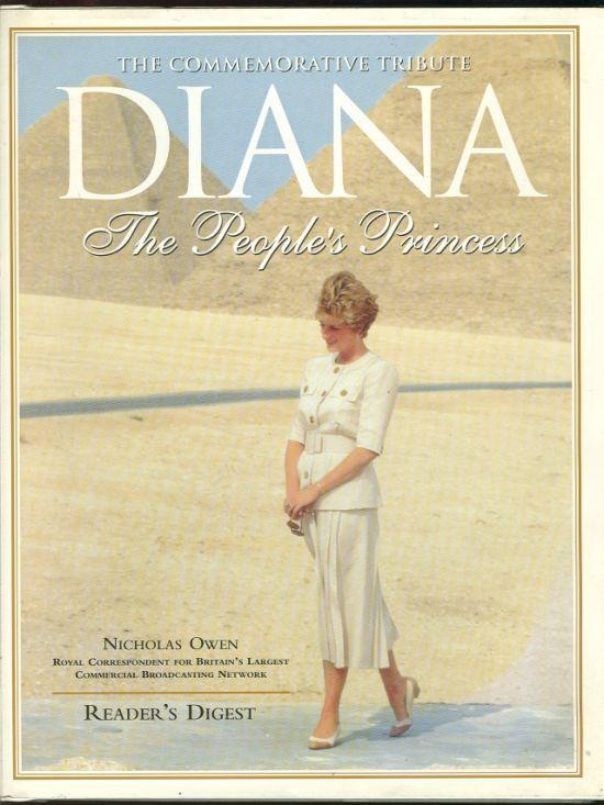 Diana the People's Princess by Nicholas Owen 1997 1st edition with Dust Jacket