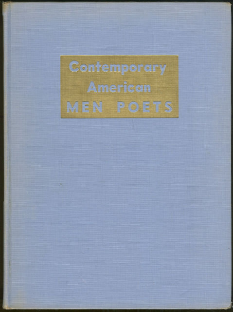 Contemporary American Men Poets 1937 First Edition