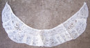 Antique Ecru Lace Collar With Ruffles