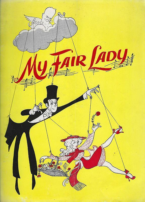 Lot of Three My Fair Lady Playbill and Souvenir Programs English/Spanish 1960