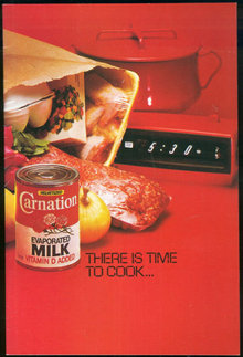 There is Time to Cook with Carnation Evaporated Milk