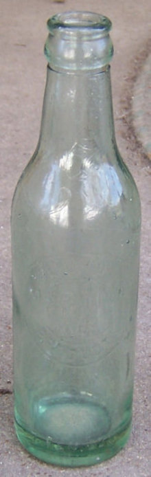 Vintage Massillon, Ohio Liquid Product Green 7oz Bottle