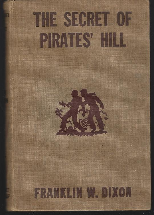 Secret of Pirates' Hill by Franklin Dixon Hardy Boys #36 Brown Tweed 1st edition