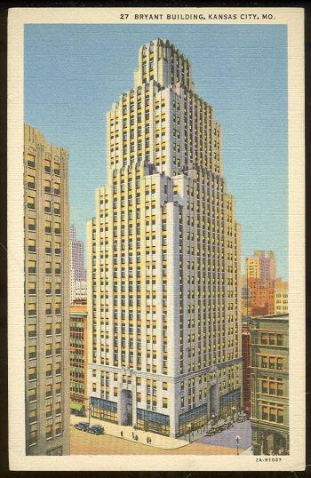 Postcard of Bryant Building, Kansas City, Missouri