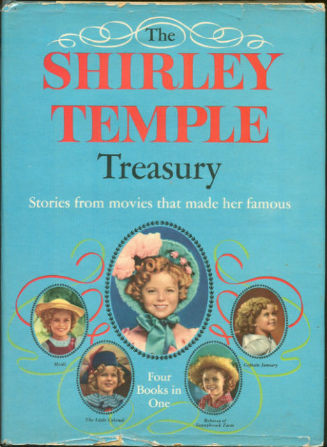 Shirley Temple Treasury Stories from the Movies 1959 DJ