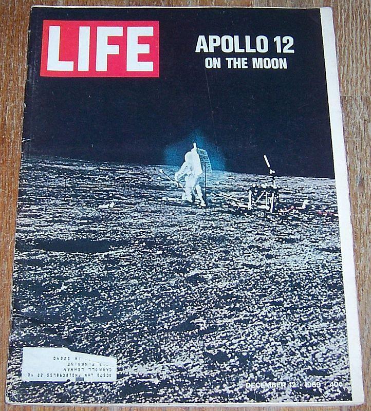 Life Magazine December 12, 1969 Lunarscapes/Apollo 12/Chicago/Max Waldman