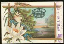 Garland Stoves and Ranges Victorian Trade Card