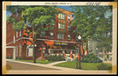 Postcard of Hotel Oneida, Oneida, New York 1948