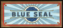 Vintage Blue Seal Cigar Box Label