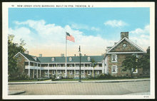 Postcard of New Jersey State Barracks Trenton, New Jersey