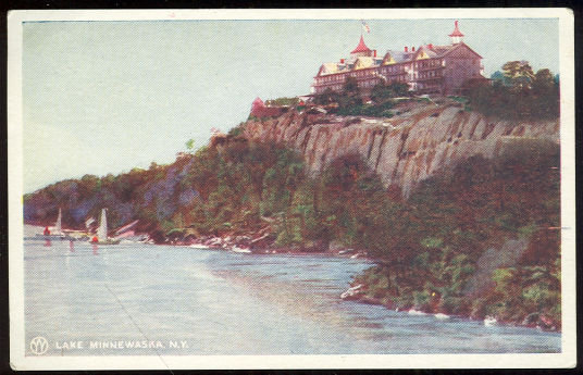 Postcard of Lake Minnewaska, Gardiner, New York