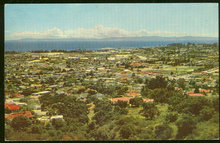 Postcard of View of Santa Barbara, California 1970