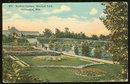 Postcard of Sunken Garden, Mitchell Park, Milwaukee, Wisconsin