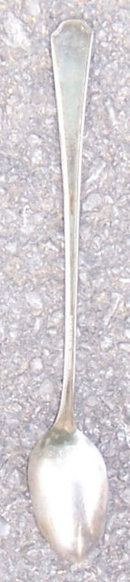Silverplate Niagara Ice Tea Spoon in Glendale Pattern