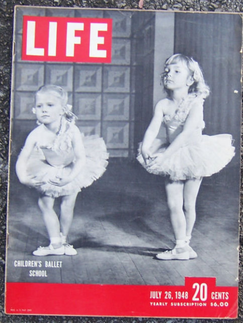 Life Magazine July 26, 1948 Children's Ballet School