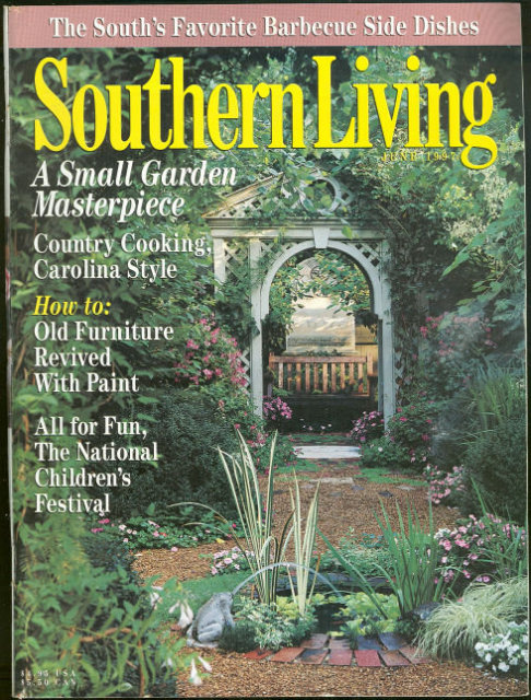 Southern Living Magazine June 1997 Huntsville Garden