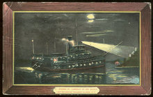 Postcard of Steamer St. Lawrence on Her Search Light Excursion, Thousand Islands, New York