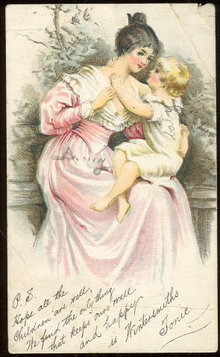Victorian Advertising Postcard for Wintersmiths Tonic