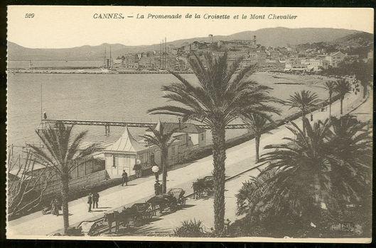 Postcard of Cannes, France La Promenade de la Croisette