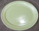 Vintage Yellow Moderntone Platonite Serving Platter