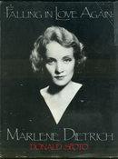 Falling In Love Again Marlene Dietrich 1985 1st ed DJ