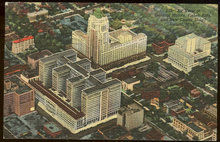 Postcard of Air View of General Motors New Fisher Bldg