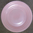 Vintage Pink Moderntone Platonite Glass Small Plate