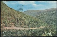 Postcard of Rip Van Winkle Trail, Catskill Mts, NY 1958