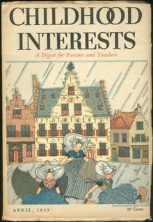 Childhood Interests April 1935 For Parents Teachers