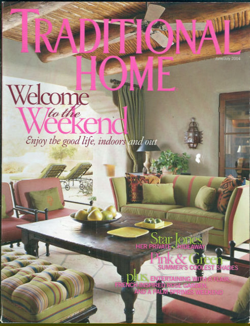 Traditional Home Magazine June/July 2004 Star Jones