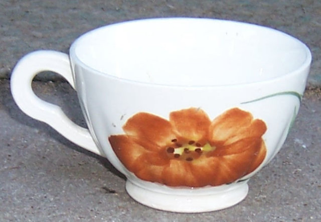 Blue Ridge Southern Pottery Zinnia Colonial Cup
