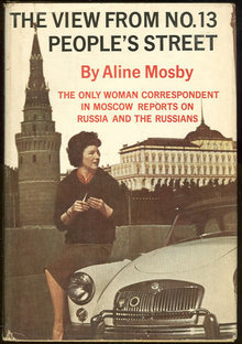 View From No. 13 People's Street Russia 1962 1st edition with Dust Jacket