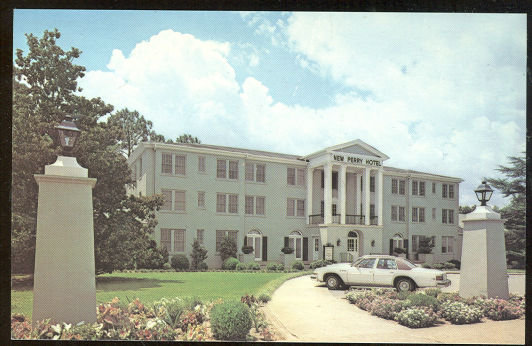 Postcard of New Perry Hotel, Perry, Georgia