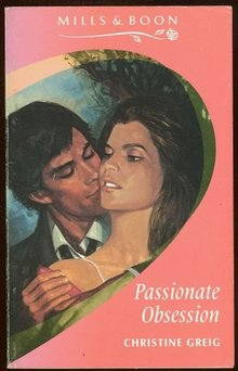 Passionate Obsession by Christine Grieg 1994 Romance
