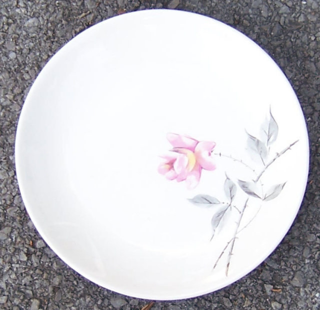 Rosette Bread and Butter Plate Ballerina by Universal