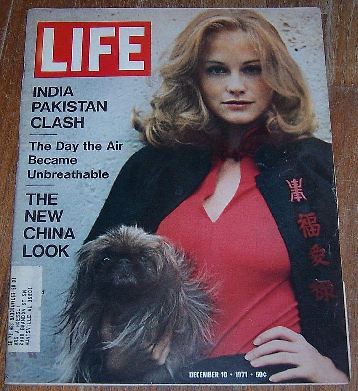 Life Magazine December 10, 1971 Cybil Shepherd Cover/ India and Pakistan/Movies