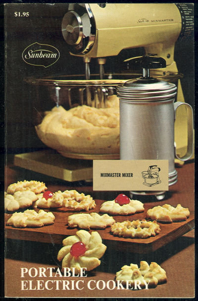 Sunbeam Portable Electric Cookery by Bonnie Brown 1970