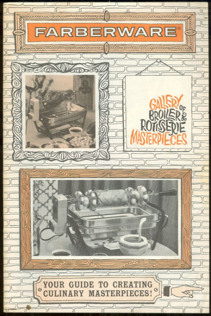 Faberware Broiler and Rotisserie Masterpieces 1972