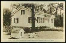 RPPC of Stephen Foster Home Restored in Greenfield
