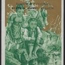 Victorian Trade Card Kramer and Friedman Store Chicago Illinois Boy Girl Fishing