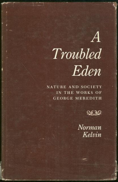 Troubled Eden George Meredith Literary Criticism 1961